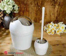 فروش عمده ست سطل و فرچه توالت پلاستیکی