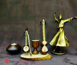 فروش عمده مجسمه آلات موسیقی مینیاتوری