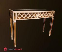 فروش عمده میز کنسول پایه بلند آینه ای