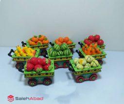 فروش عمده چرخ دستی میوه خمیری