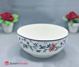 فروش عمده کاسه سوپ گل دار سرامیکی