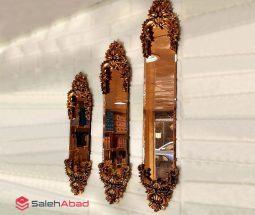 فروش عمده آینه سه سایز تاجدار