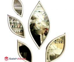 فروش عمده آینه دکوری ۵ تکه طرح اشک
