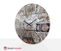 فروش عمده ساعت دیواری آینه ای شیک