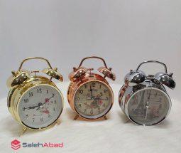 فروش عمده ساعت زنگ دار فلزی کوچک