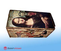 فروش عمده صندوق جواهرات طرح مونالیزا