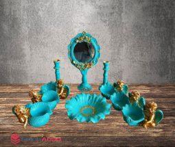 فروش عمده ظروف هفت سین ۱۰ پارچه طرح فرشته