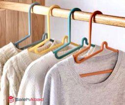 فروش عمده چوب لباسی رنگی ۵ تایی