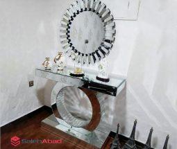 فروش عمده آینه و میز کنسول آینه ای