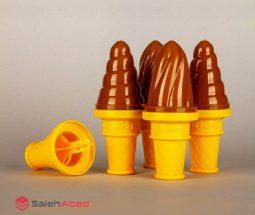 فروش عمده قالب بستنی مدل بستنی قیفی