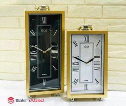 فروش عمده ساعت استیل رومیزی مستطیل