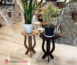 فروش عمده چهارپایه گلدان مدل هلالی