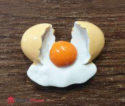 فروش عمده مگنت یخچالی طرح تخم مرغ
