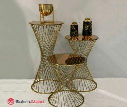 فروش عمده میز عسلی ۳ تایی فلزی