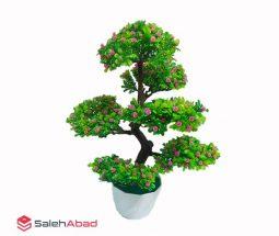 فروش عمده گلدان بونسای مصنوعی ۶ شاخه