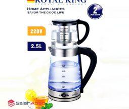 فروش عمده چای ساز روهمی ROYAL KING