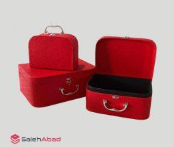 فروش عمده جعبه کادو چمدانی ساده