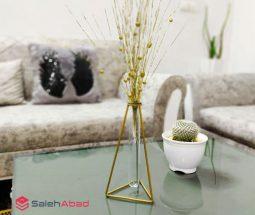 فروش عمده گلدان فلزی مدل مثلثی