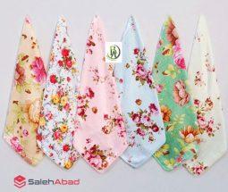 فروش عمده دستمال آشپزخانه گلدار آنجل