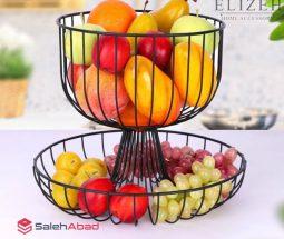 فروش عمده سبد میوه دو طبقه