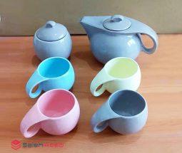 فروش عمده سرویس چای خوری رنگی
