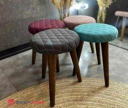 فروش عمده صندلی پاف ۳ پایه