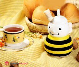 فروش عمده ظرف عسل خوری زنبوری