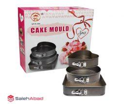 فروش  عمده ست قالب کمربندی کیک پزی