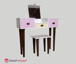 فروش عمده میز آرایش دخترانه با صندلی