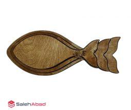 فروش عمده تخته سرو چوبی طرح ماهی
