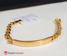 فروش عمده دستبند زنجیری پلاک دار