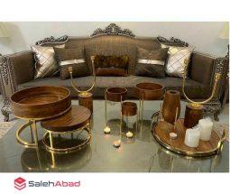 فروش عمده ظروف پذیرایی چوبی مدرن