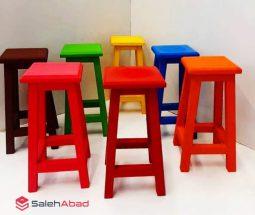 فروش عمده چهارپایه مربعی رنگی