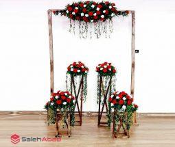فروش عمده طاق گل سفره عقد و پایه گلدان