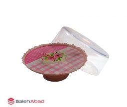 فروش عمده کیک خوری پایه دار پلاستیکی