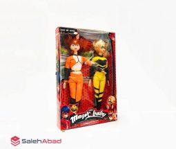فروش عمده عروسک باربی کفشدوزکی دو عددی
