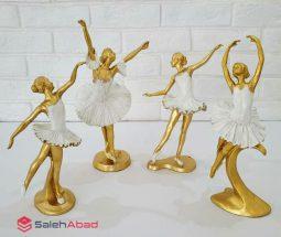 فروش عمده مجسمه ۴ عددی رقص باله
