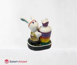 فروش عمده ست نمکدان طرح خرگوش و هویج