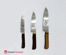 فروش عمده چاقو حیدری دسته چوبی