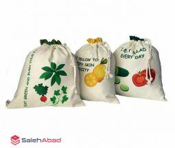 فروش عمده کیسه میوه و سبزی پارچه ای