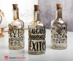 فروش عمده بطری شیشه ای درب چوب پنبه