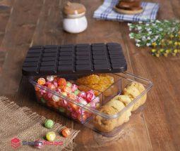 فروش عمده ظرف نگهدارنده طرح شکلات