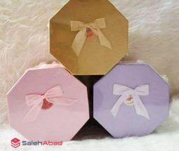 فروش عمده جعبه کادویی ۸ ضلعی