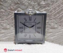 فروش عمده ساعت رومیزی مربع چوبی