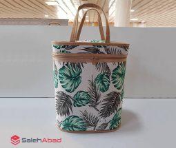 فروش عمده کیف مسافرتی دستی طرح هاوایی