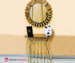 فروش عمده میز کنسول آینه ای طرح چتری