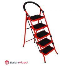 فروش عمده نردبان ۵ پله فلزی تاشو