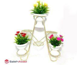 فروش عمده پایه گلدان فلزی ۶ طبقه