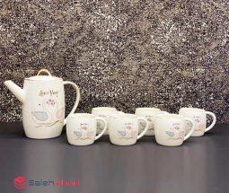 فروش عمده سرویس چای خوری طرح قو