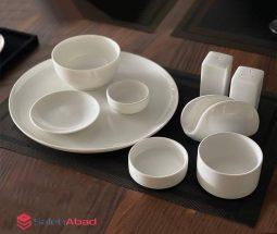 فروش عمده ظروف چینی ساده سفید